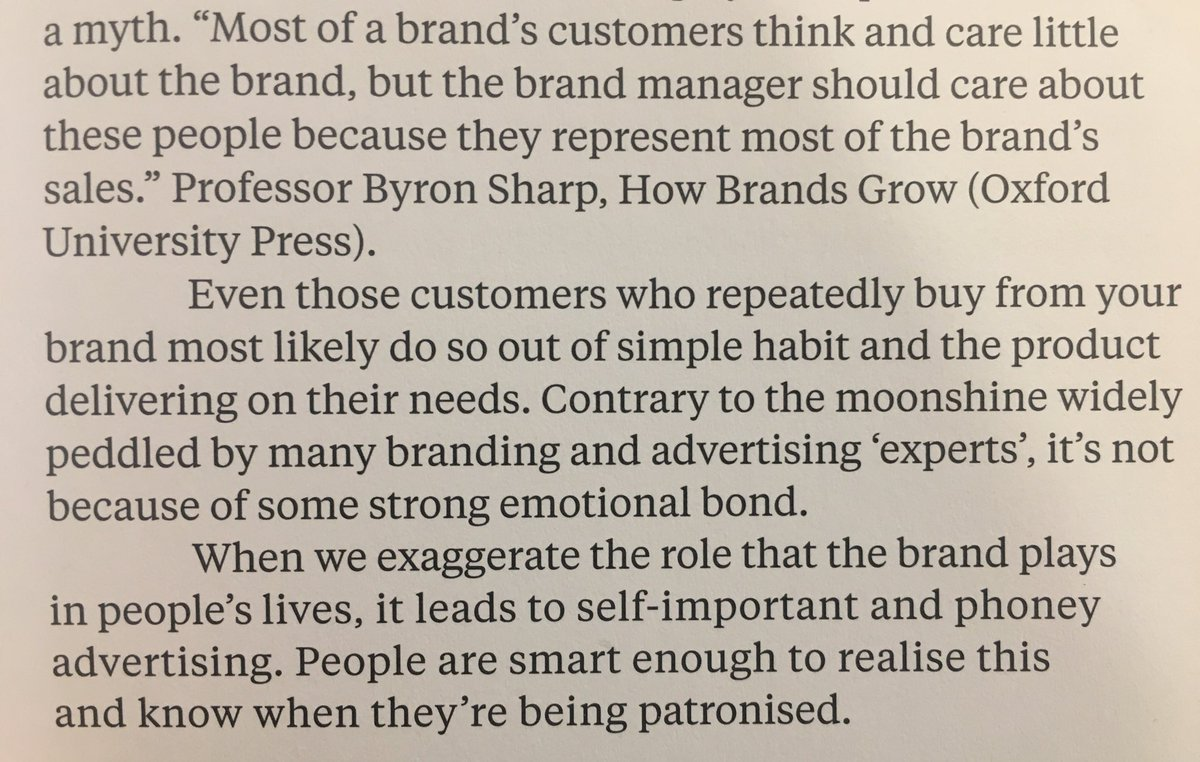 💎 On the danger of falling for the idea of brand love (it's not because of some strong emotional bond)