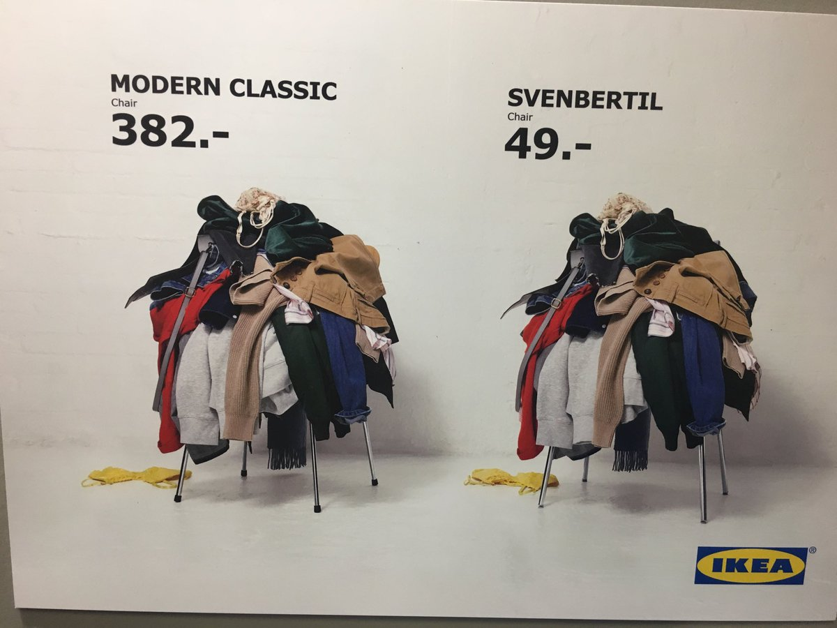 IKEA harnessing price relativity