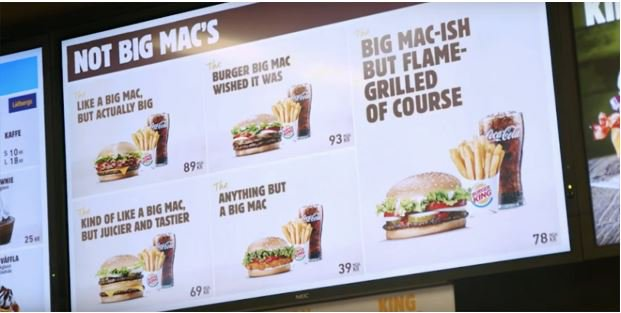 As the trademark for Big Mac lapses in the EU, Burger King takes its trolling of McD's to glorious new heights