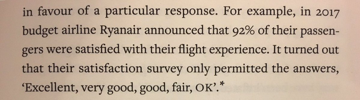 💎 Before believing a study take a look at its methodology (Ryanair satisfaction)
