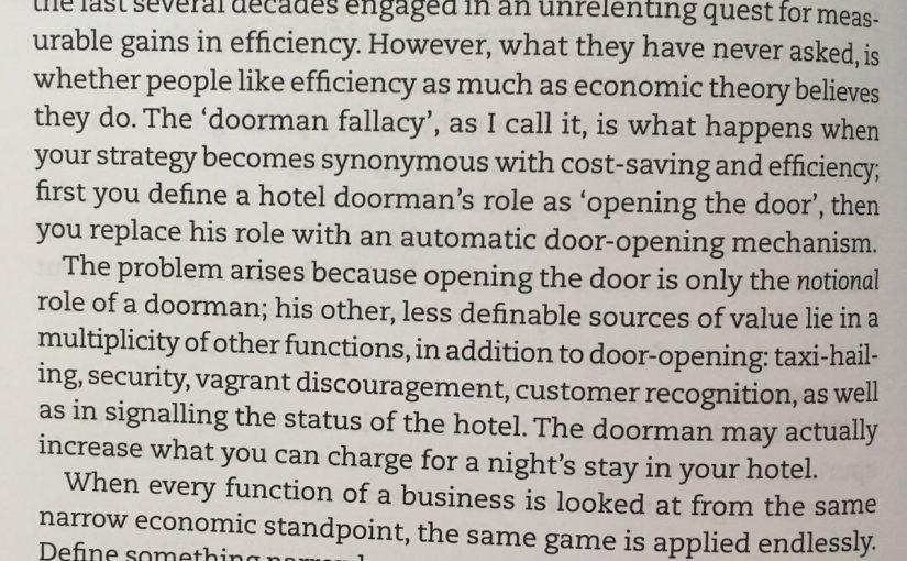 On the doorman fallacy