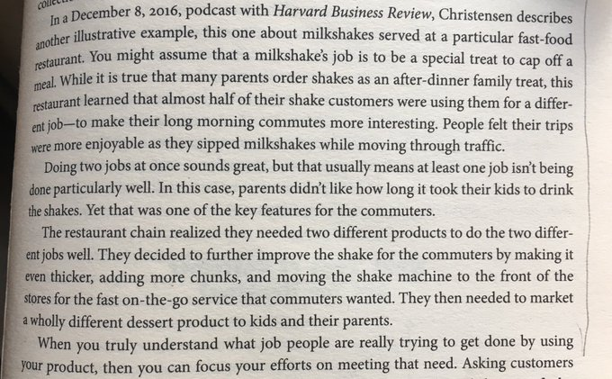 On the importance of finding the real, and sometimes hidden, reason for someone purchasing your product