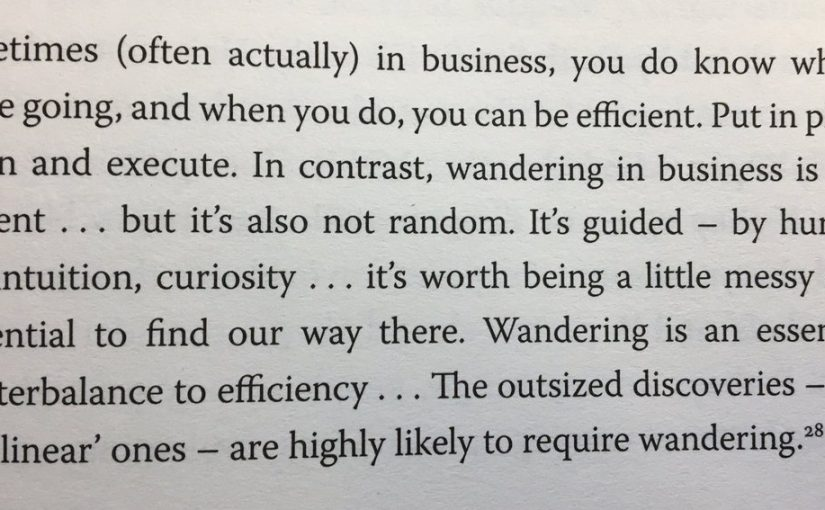 💎 On the benefits of efficiency and the dangers of pursuing it too far (it's worth being a little messy)