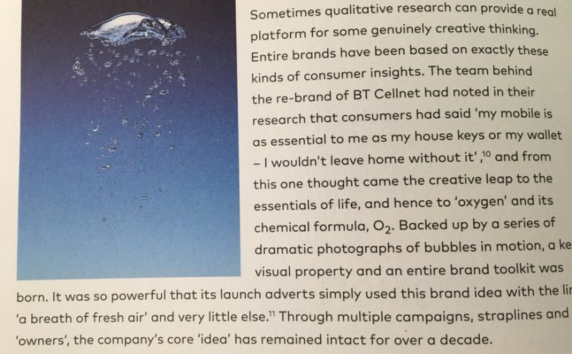 💎 On qualitative research and creative thinking in branding (how BT Cellnet became 02)