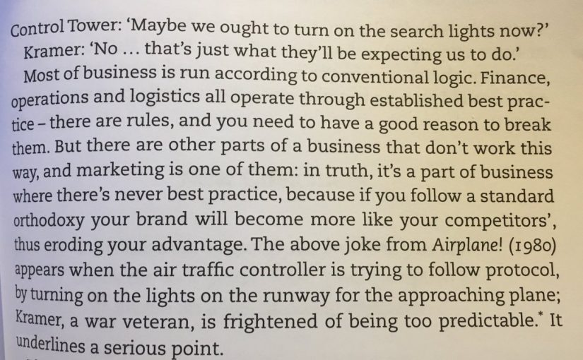 💎 On following the rules of business (or not)