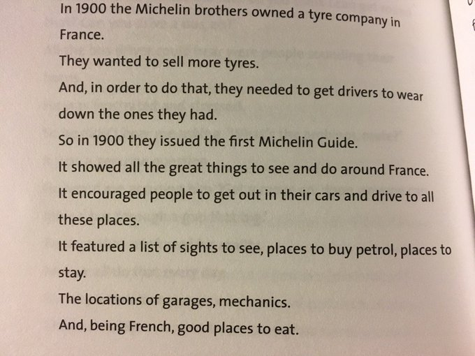 💎 On the best example of branded content being 100 years old (the Michelin Guide)