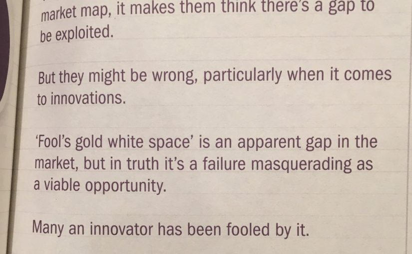 💎 Beware fool's gold white space (when assessing new markets)
