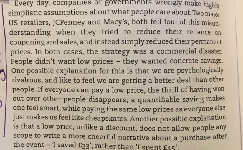 On the dangers of everyday low pricing