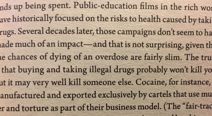 On communicating risks to others to change behaviour (are anti-drugs ads too formulaic?)