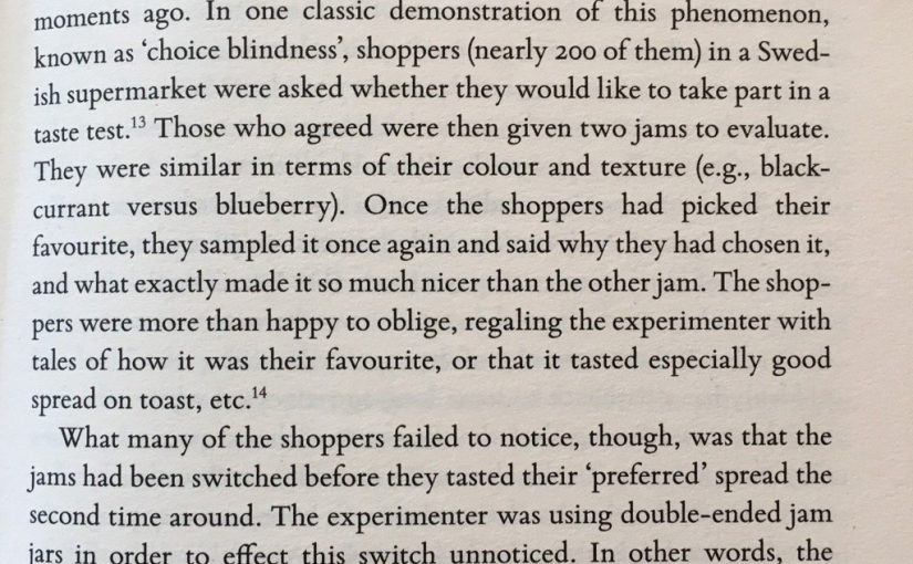 💎 On how poor our recollection of taste can be (how context alters it)