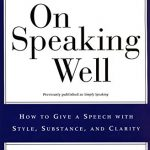 📖 On Speaking Well
