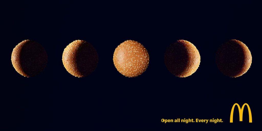 McDonald's late-night opening ad