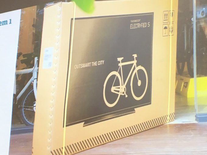 ♦️ VanMoof puts its bikes in TV packaging so couriers treat them with more care