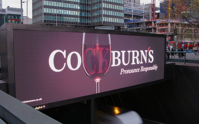 Cockburn's Pronounce responsibly