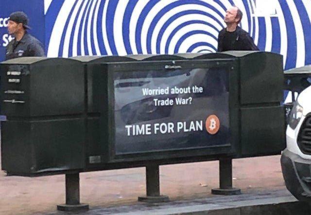 Bitcoin time for plan B