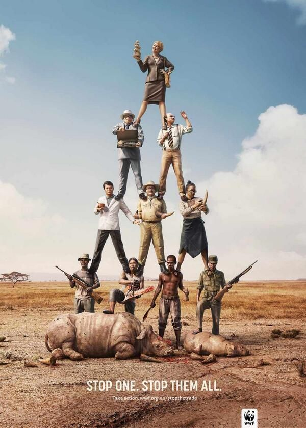 WWF: Stop one. Stop them all.