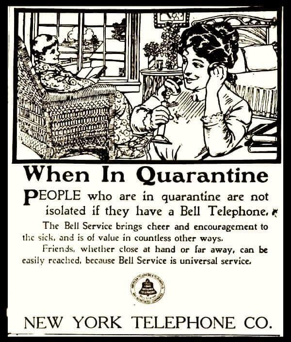 AT&T ad from a 100 years ago