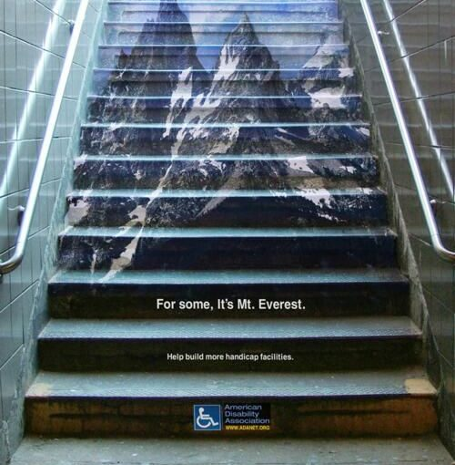 American Disability Association For Some It's Mount Everest