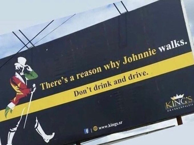 Johnnie Walker There's a Reason Why he Walks