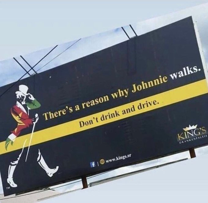 Jonnie Walker There's a Reason Why he Walks
