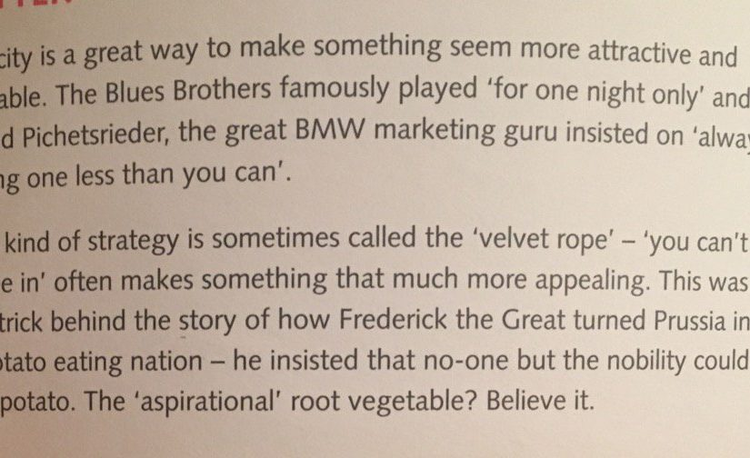 💎 On the secret behind the world's first aspirational root vegetable (scarcity)