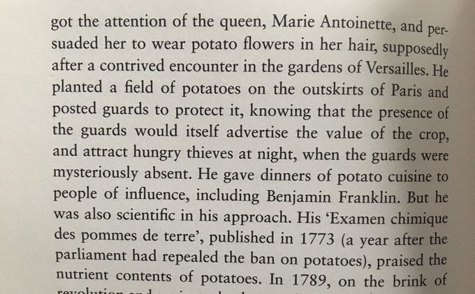 💎 The 18th century advertising gimmicks behind the promotion of the potato (it's all about appearances)