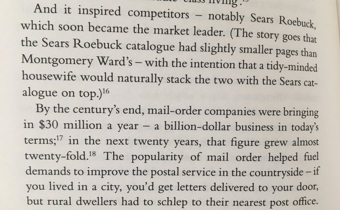 💎 How Sears outdid their main competitor (by making their catalogue slightly smaller)