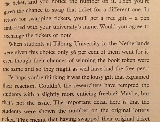 How a Dutch lottery ingeniously harnesses regret aversion by allocating a lottery number to every household (postcode lottery)