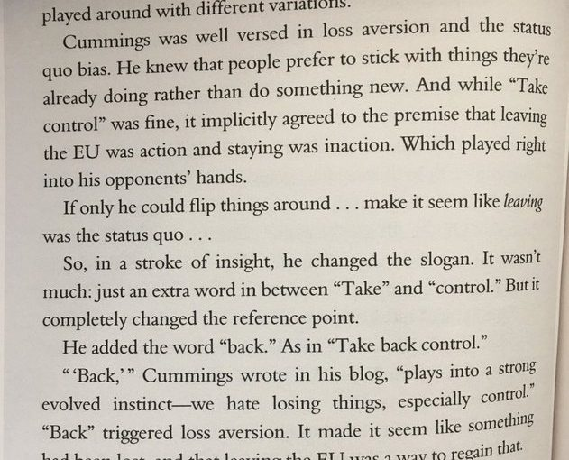 💎 How 'take control' morphed into 'take back control' (the language of Brexit)