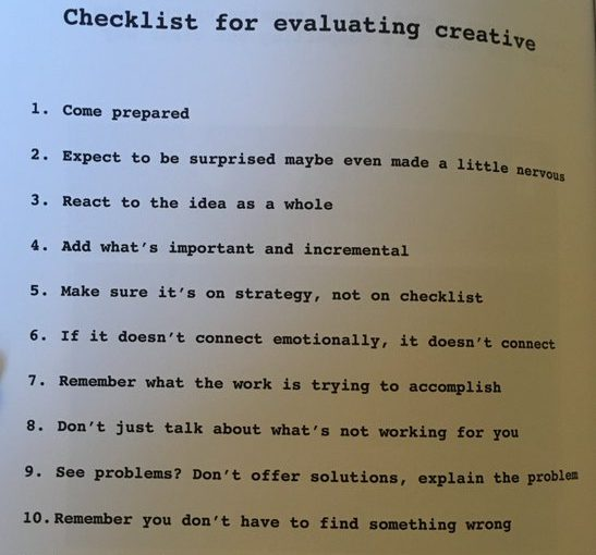 💎 Checklist for evaluating creative strategy (11 steps)