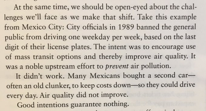 Beware simplistic attempts to change behaviour (Mexico City and air pollution)