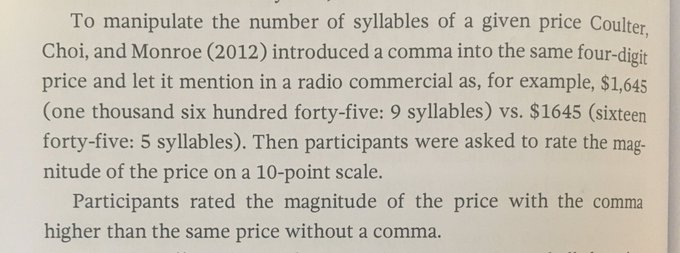 💎 If you provide a price or quote best to leave out the comma (it makes the number look smaller)