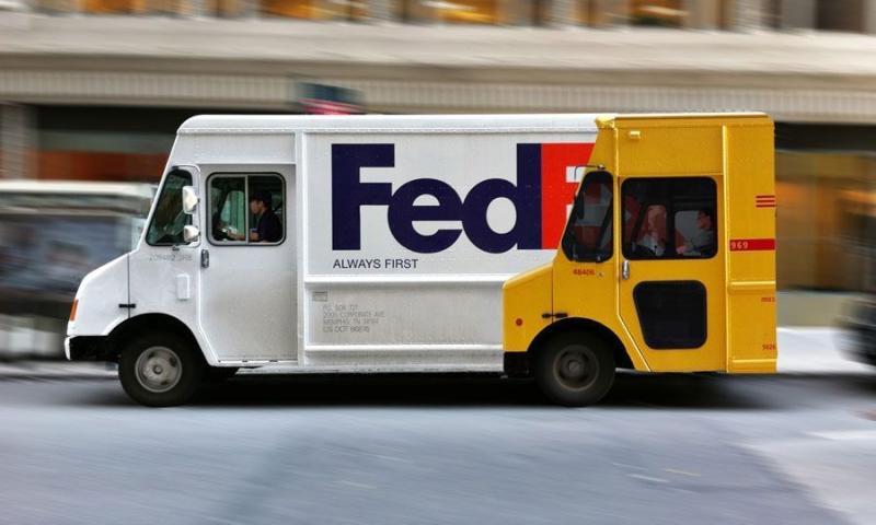 Fedex Faster than DH...