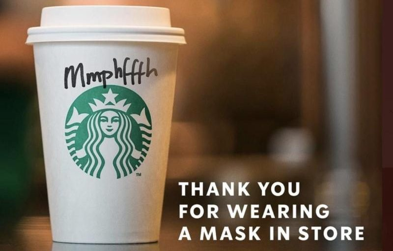♦️ Starbucks Face Masks