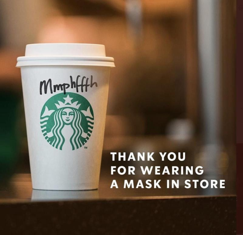 Starbucks Face Masks