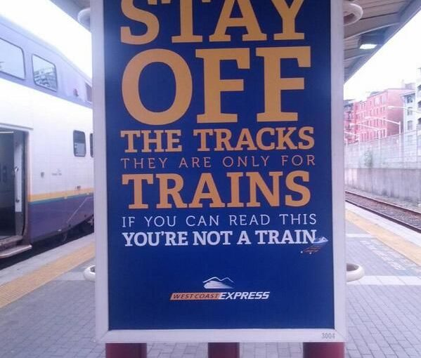 West Coast You Are Not a Train