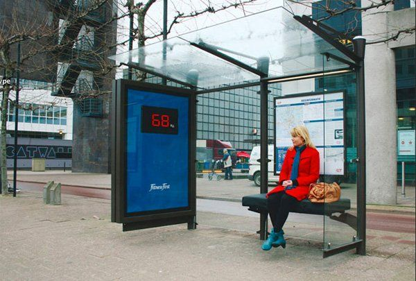 ♦️ Fitness First Bus Stop Scales
