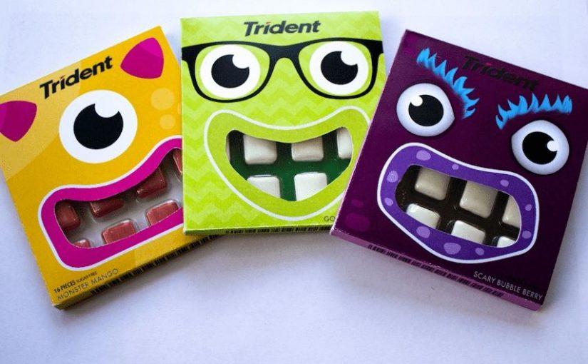 ♦️ Trident Gum