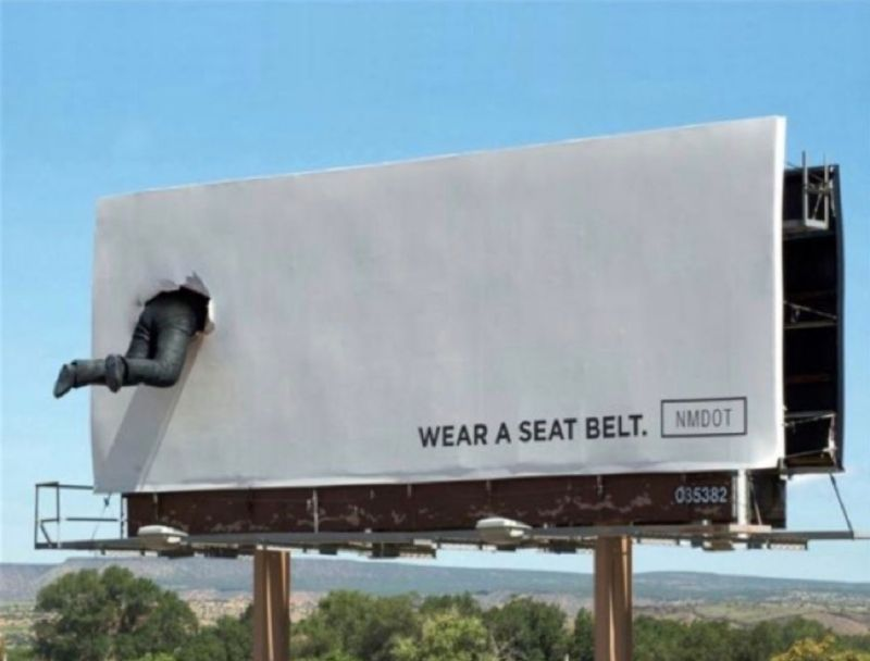 NMDOT Wear A Seatbelt