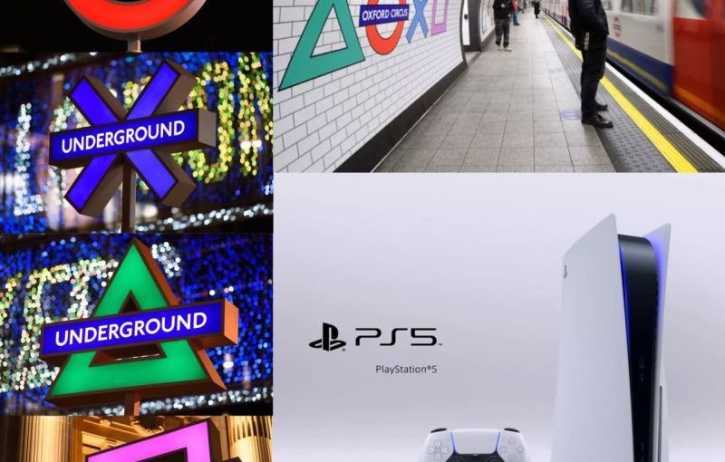 ♦️ Sony Playstation London Underground