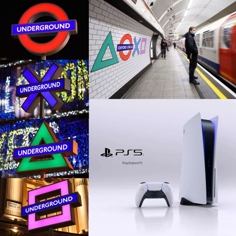 Playstation London Underground