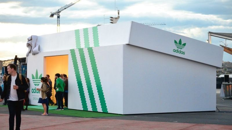 ♦️ Adidas Stan Smith Popup Store