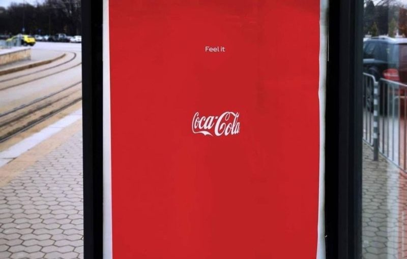 ♦️ Coca Cola Invisible Branding