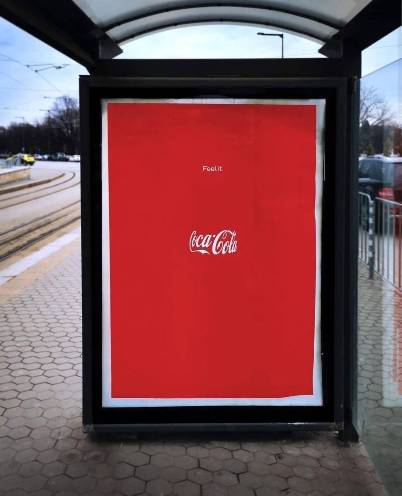 Coca Cola Invisible Branding