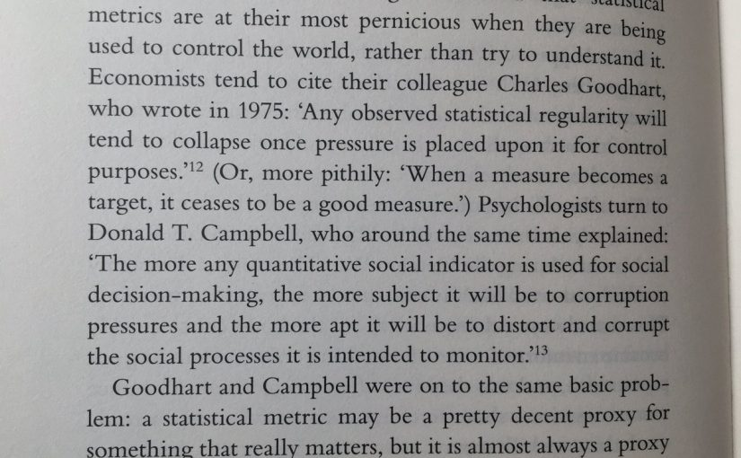 💎 On the danger of statistical methods being used to control the world (rather than understand it)