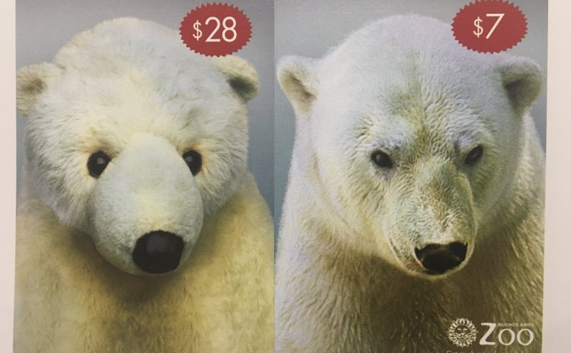 ♦️ Buenos Aires Zoo and price relativity in action
