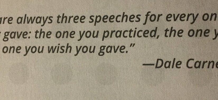 💎 All speeches have three versions (before, during, ideal)