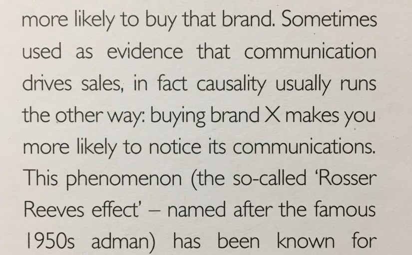 💎 Beware the Rosser Reeves effect when interpreting tracking data (communication effectiveness)