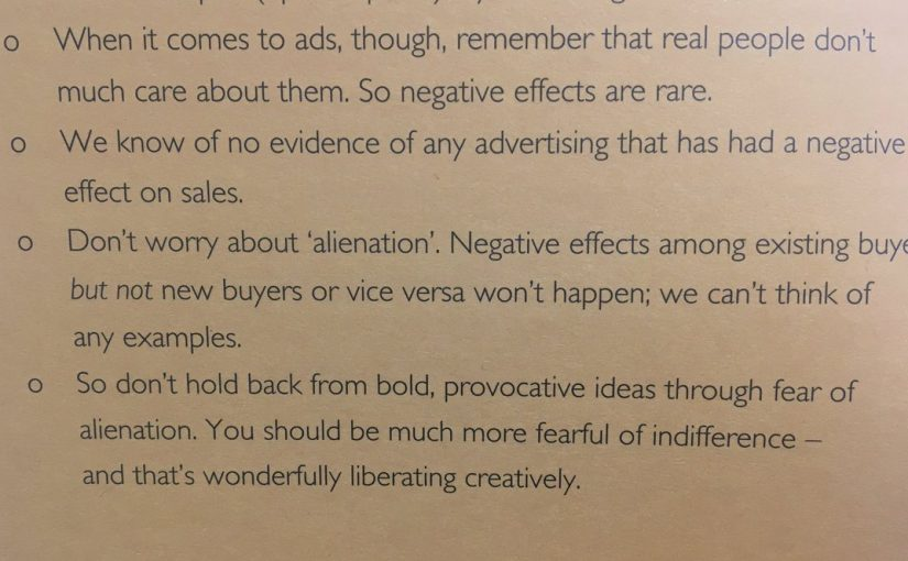 💎 Advertisers would do better to fear indifference than alienating consumers (real people don't much care)