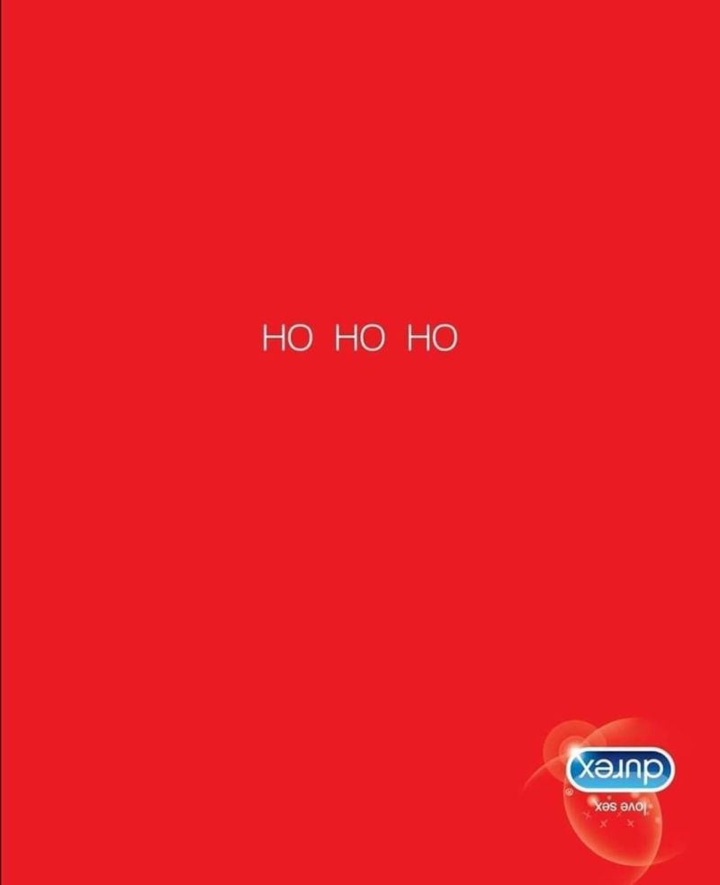 Durex Inverted Christmas